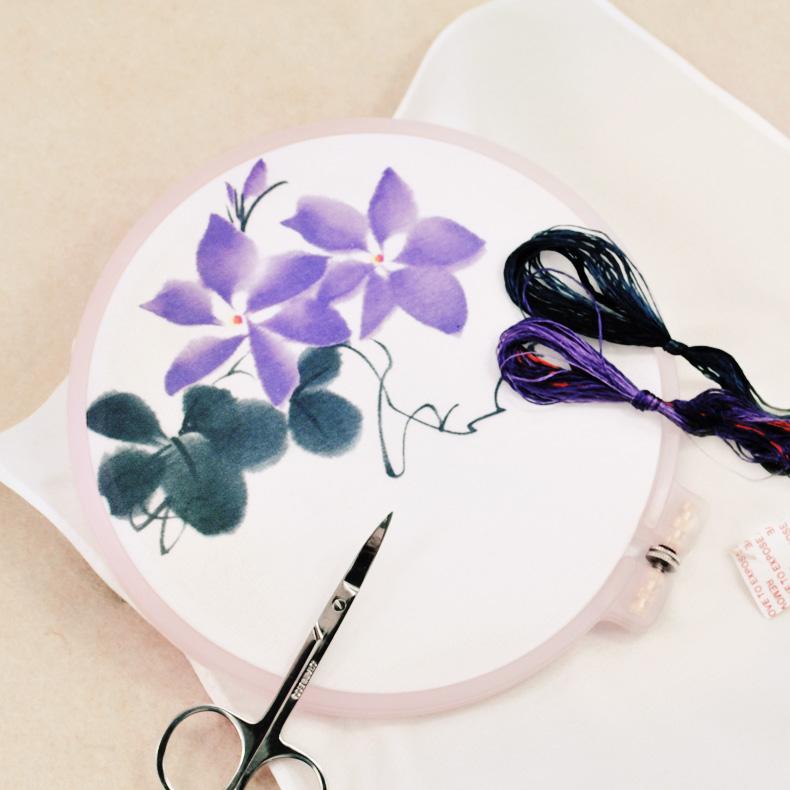Фиолетовый шестиугольник