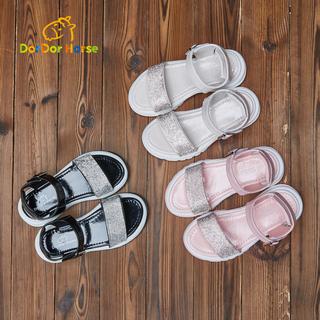 Много лошадь обувь девочки носок сандалии лето 2018 новый ребенок толстая корка принцесса обувной в больших детей песчаный пляж обувной, цена 3293 руб