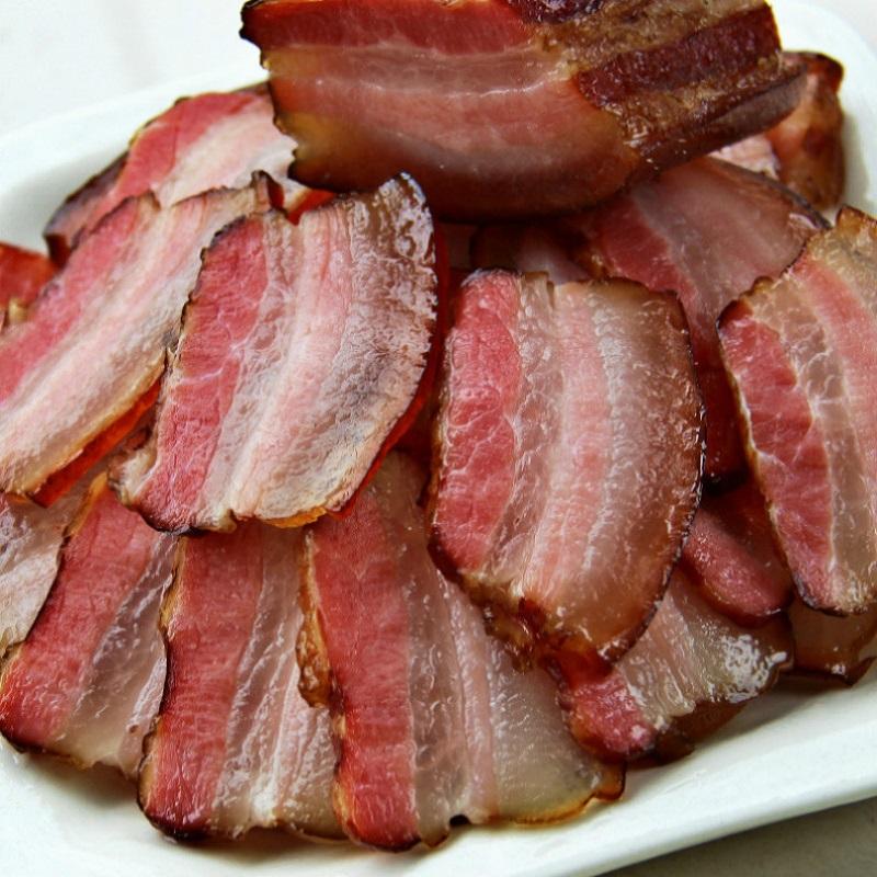 陈二洋 五花腊肉正宗四川特产烟熏咸肉腊肉农家自制熏肉腊肠500g