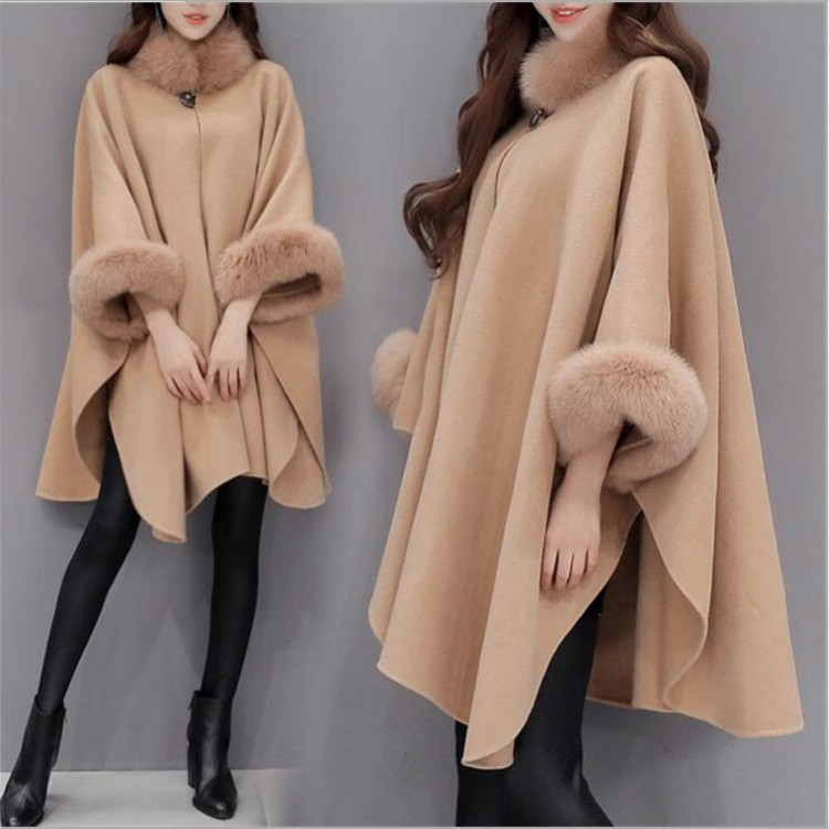 Female long coat, shawl coat, female 602696599688