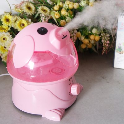 Cartoon pig humidifier mute home office bedroom large capacity baby pregnancy air purification mini aromatherapy machine