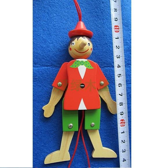 积木木制娃娃玩具_木制木制玩具儿童100_串珠儿童积木熊玩具害羞头像图片