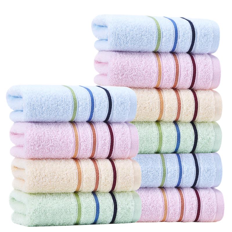 【10条装】洁丽雅家用纯棉吸水毛巾