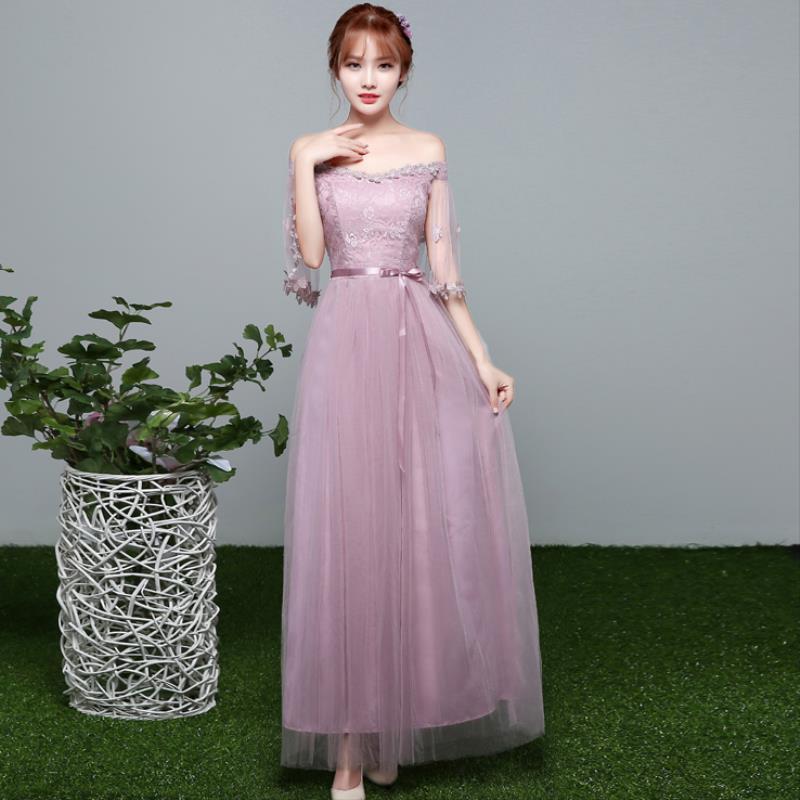 婚纱女士裙子时尚服婚礼a婚纱伴娘均码简约西式抹胸浅灰色简洁
