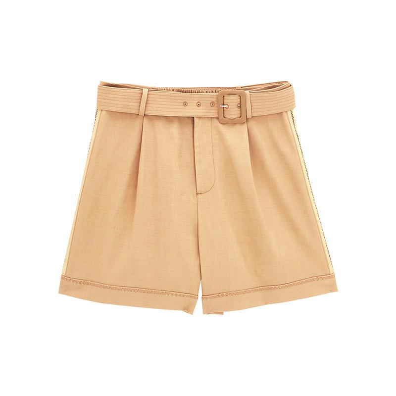 theMSLAN高腰短裤女【商场同款】