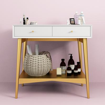 北欧实木梳妆台现代简约网红化妆台轻奢迷你小户型卧室ins化妆桌