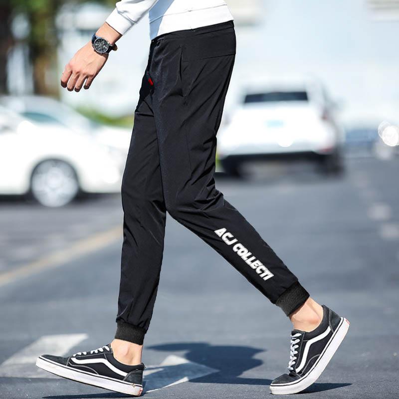 【尼狮迪】2019男士韩版修身休闲裤