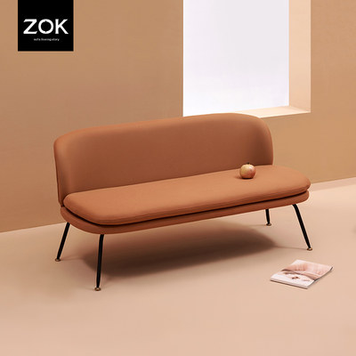 ZOK Denmark design technology cloth sofa Nordic simple free waterproof easy to manage small apartment