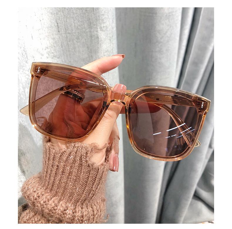 网红太阳眼镜女大脸显瘦年新款太阳眼镜男韩版潮街拍偏光眼镜详细照片