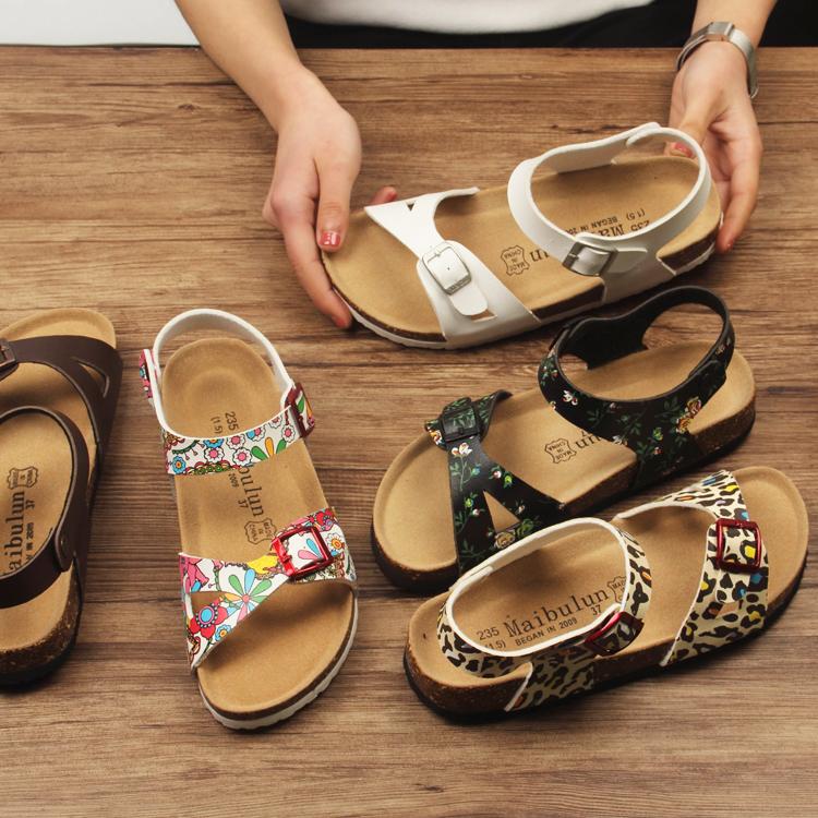 4fae065aa068 Korean Ulzzang Cork slippers couple sandals flat non-slip beach sandals  sponge hole shoes student models