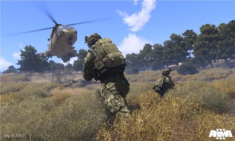 武装突袭3 v1.66全DLC顶尖版下载可联机中文PC版含钓鱼群岛mod-iD游源网