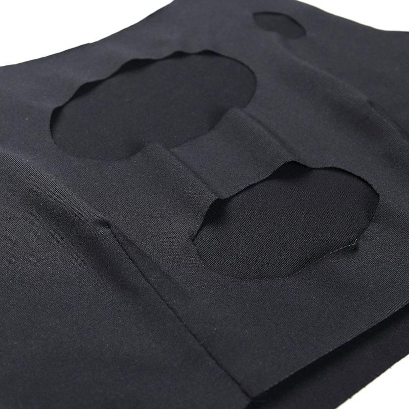 妮妮韓國服飾店~Sexy tight-fitting tank top鏤空破銅性感緊身型小背心個性夏季