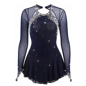 custom size figure skating dress for girls women Liuhuo figure skating performance costume, female performance costume and women customized stage costume