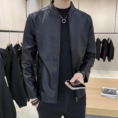 秋冬韩版衣夹克加绒外套修身上衣