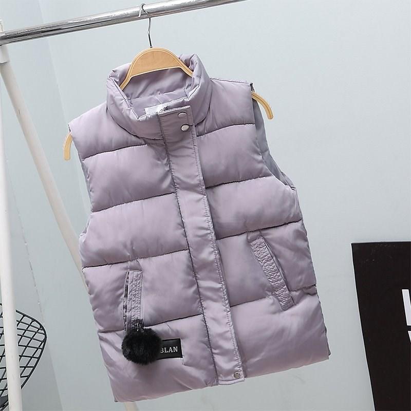 马甲套装2018新款女学生秋冬款时髦学院风短款洋气韩版棉坎肩外套