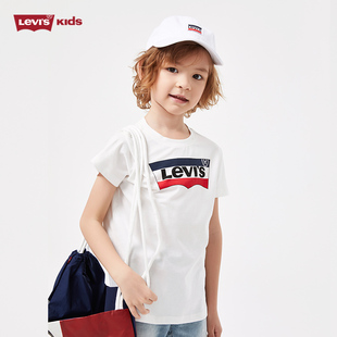 [Levi's] children's wear summer casual fashion short sleeved T-shirt