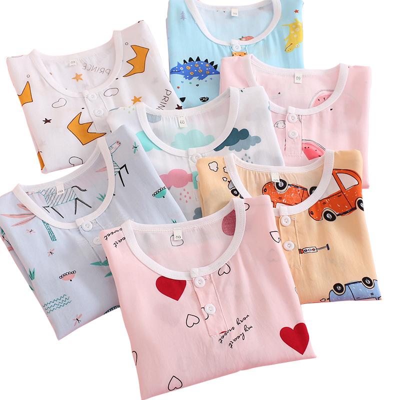 【淘可鸭】薄款儿童睡衣夏季空调服