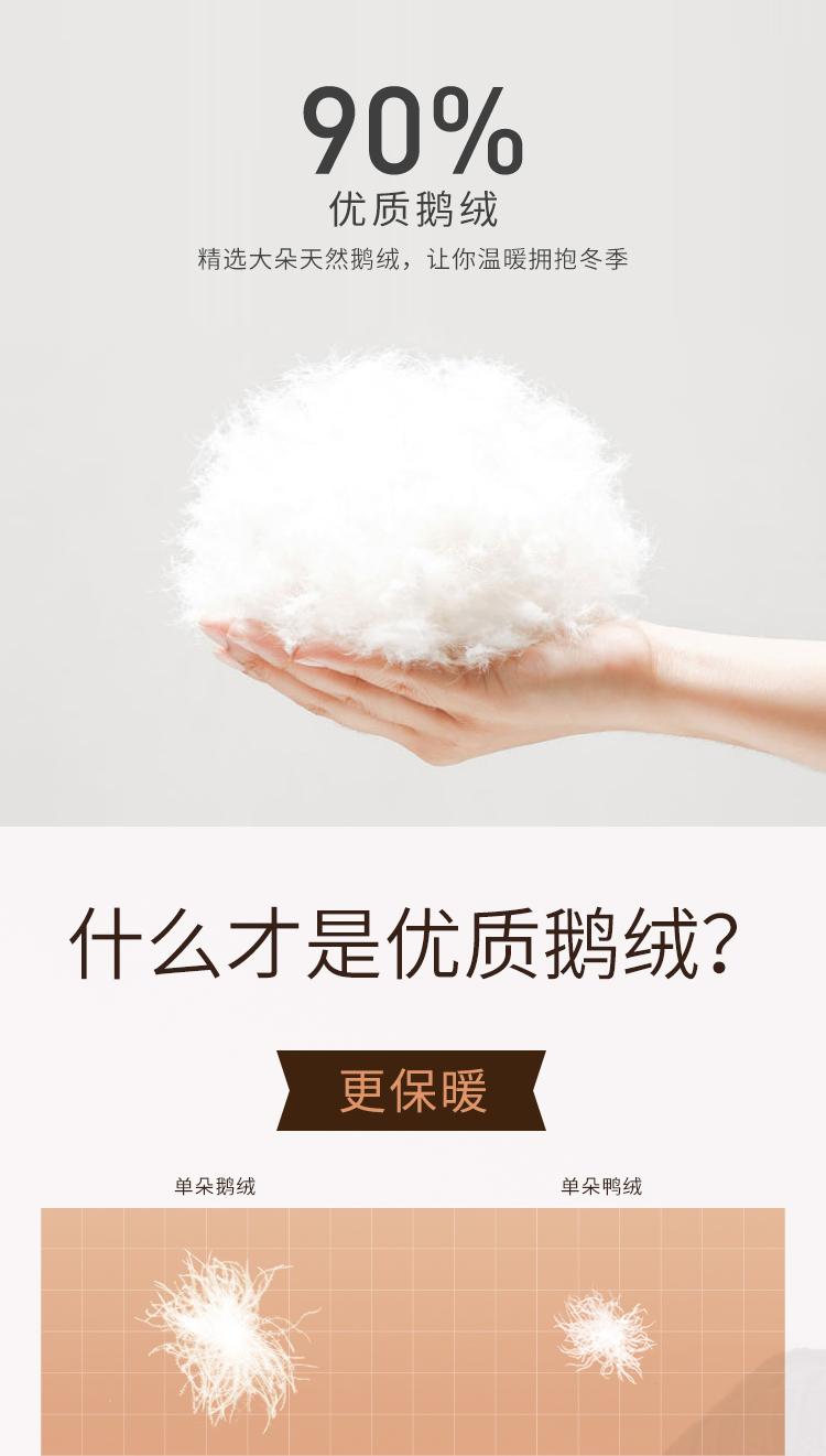 日本人气童装 petitmain 貉毛大领 90白鹅绒羽绒服 图5