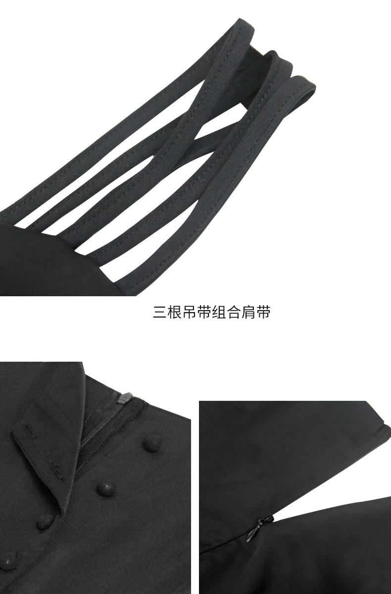 吊带裙夏季2019新款吊带连衣裙性感黑色气质长款赫本小黑裙长裙女商品详情图