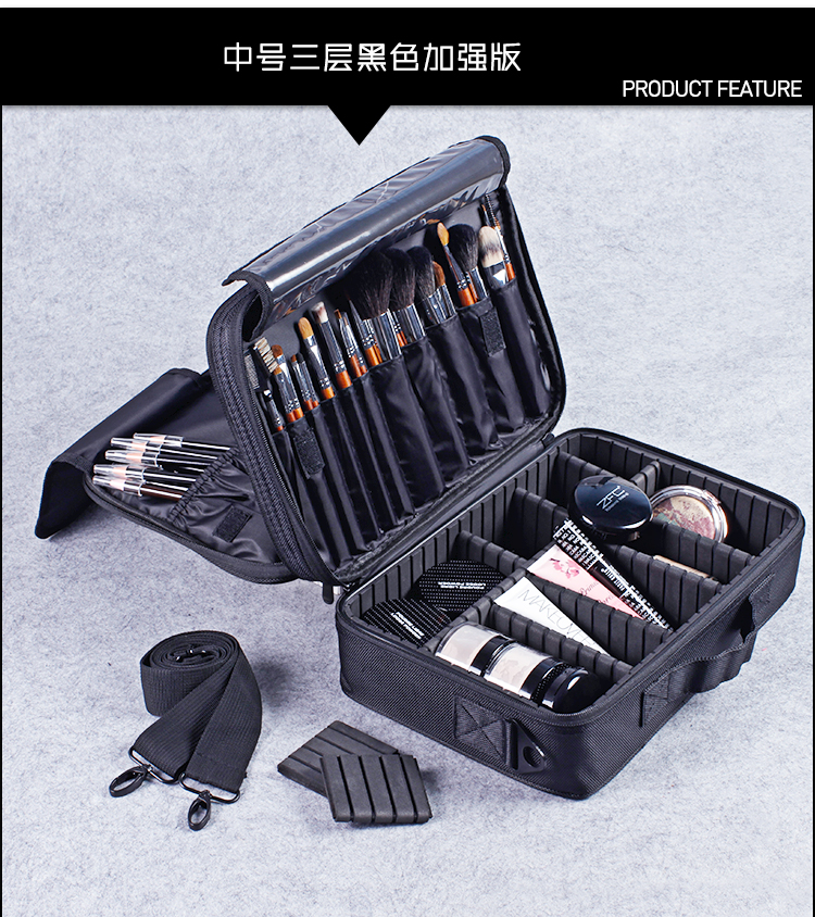 Brush pocket in Compartment Travel Bag
