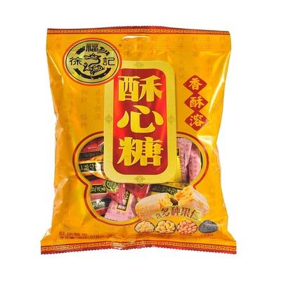 徐福记新年糖酥心糖混合口味318g袋装休闲零食年货大礼包团购批发