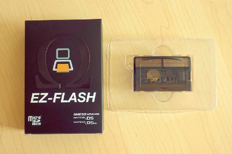 全新正品EZOmegaGBA烧录卡游戏卡GBM/GBASP/NDSL卡超EZ4FLASH
