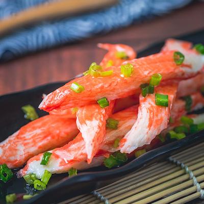 潮兴记蟹棒冷冻火锅用 手撕蟹柳 寿司蟹棒海底捞专用材料200g