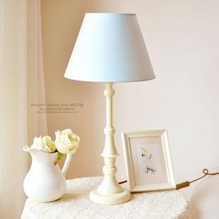 Прикроватный светильник Простой в европейском стиле настольные лампы Новый Свет синий средиземноморский светильники скандинавской декоративная настольная лампа дети спальня ночники