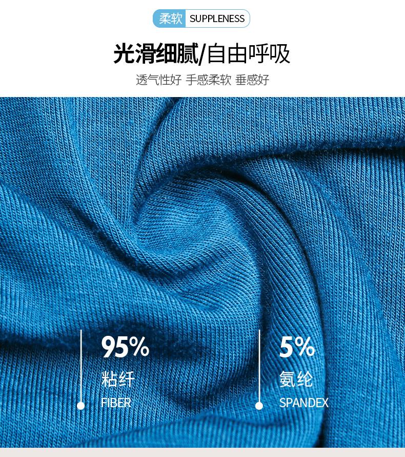 男士内裤平角裤莫代尔四角裤短裤冰丝无痕大码男式裤头底裤内裤男(图2)