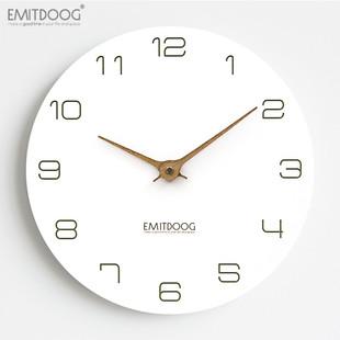 EMITDOOG现代时尚静音钟表