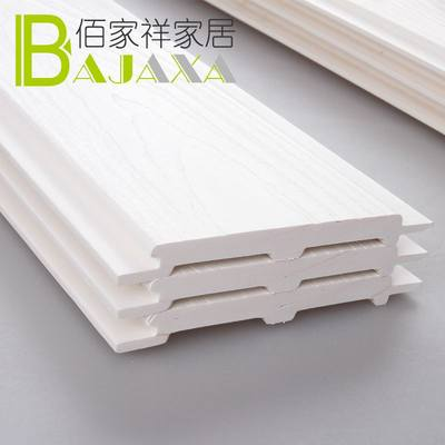 Ecological wooden balcony ceiling embossed board decoration material ceiling board living room integrated wall wall skirt