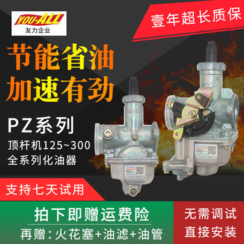 Suitable for Qianjiang Zongshen Longxin Honda CG125 150 200 250 tricycle motorcycle universal carburetor