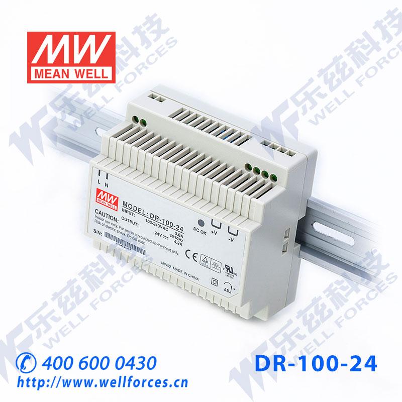Следующий широта руководство переключатель источник питания DR-100-24 100W 24V4.2A [ содержать по голосу sf ] вес 0.38
