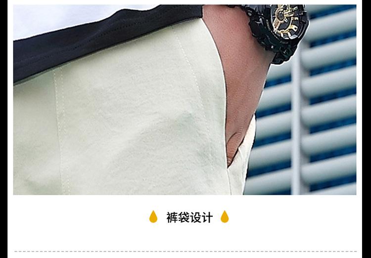 夏季新款男款简单韩版五分裤短裤热裤沙滩裤休闲运动短裤DK77-P25