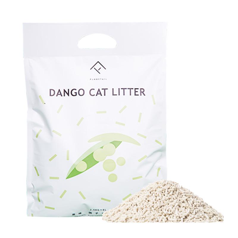 尾巴生活豌豆玉米团子猫砂6L*4包