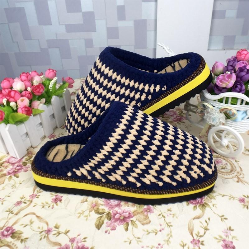 纺坊毛线鞋手工拖鞋太阳花拖鞋材料包送说明巧手女工编织