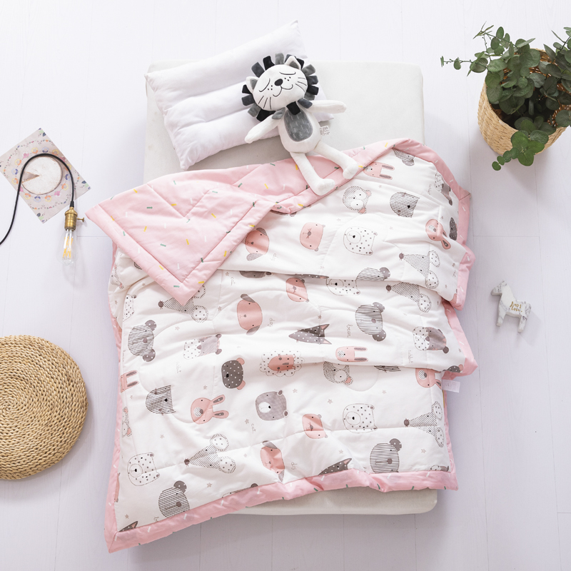 Animal Party-pink (60 Cotton)