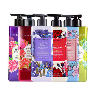 THE FACE SHOP romantic encounter perfume shower Gel 500ml