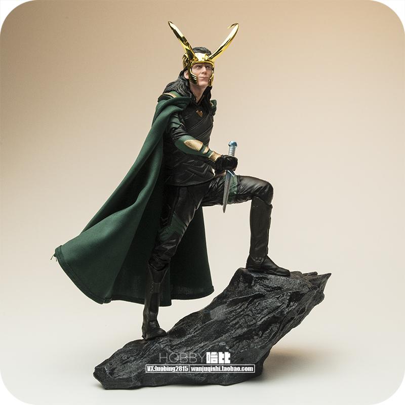 Nhà máy Brazil cùng đoạn 1/10 Avengers Thor Thor Anh trai Loki tượng tượng xe làm đồ trang trí thủ công - Capsule Đồ chơi / Búp bê / BJD / Đồ chơi binh sĩ