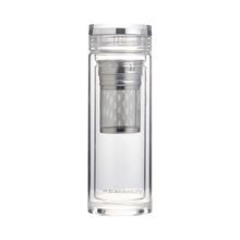 双层玻璃过滤茶杯耐热加厚便携杯子