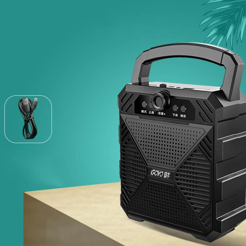 蓝牙音箱大音量户外便携式小音响家用无线小型店铺收款超重低音炮