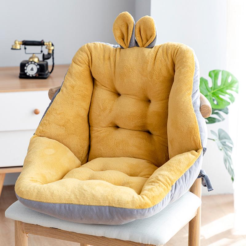 【多色可选!】一体式秋冬季靠背坐垫
