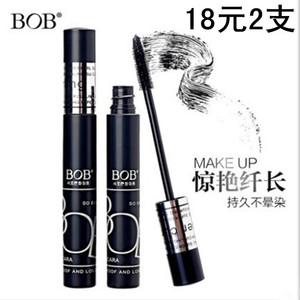 BOB惊艳纤长睫毛膏正品持久防水卷翘浓密拉长硅胶软刷头43013