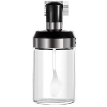 【抖音爆火】勺盖一体玻璃调料瓶