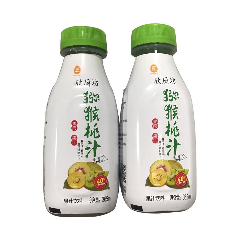 【欣厨坊】大别山纯猕猴桃汁365m/4瓶
