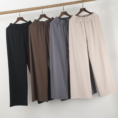 Stretch modern dance clothing female wide leg trousers straight training pants national classical training pants