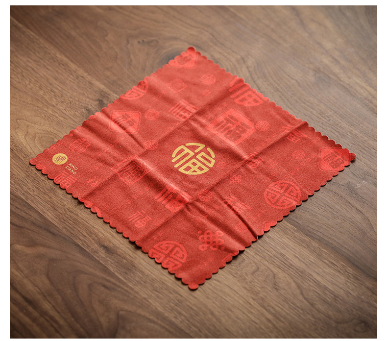 By zen thickening bibulous tea towel towel coloured drawing or pattern tea special tea table cloth cloth cloth kung fu tea set spare parts