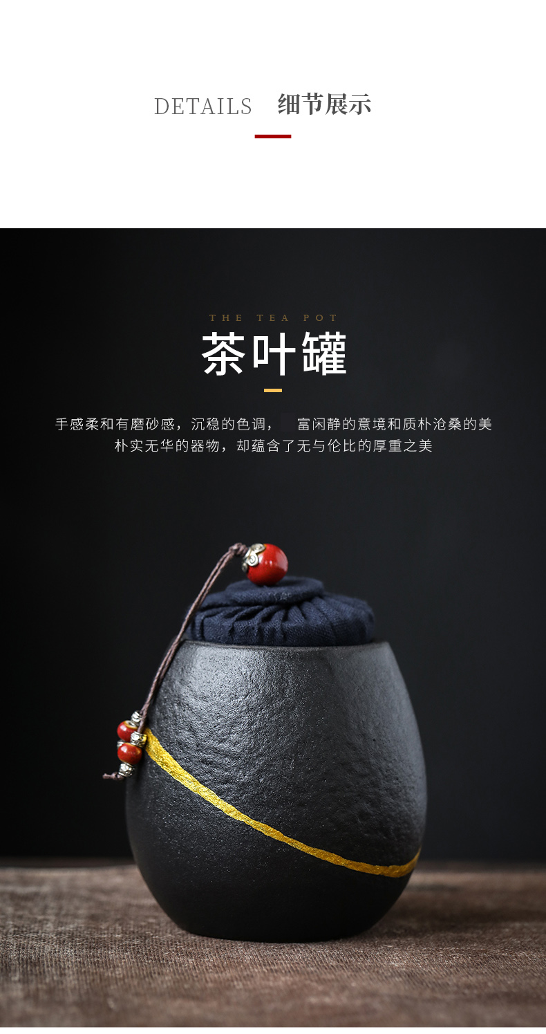 By phase Buddha tea six gentleman 's suit ebony pure copper optional kung fu tea accessories