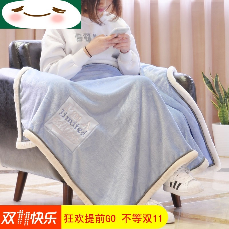 床单冬款大珊瑚冬季毯正方形盖防滑垫客厅毛毯绒毛毯女单人理期