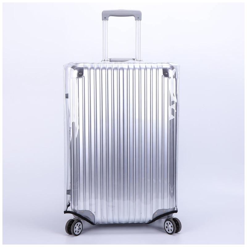 PVC防水透明加厚拉杆箱套旅行箱套行李箱保护套箱套20\\\/24\\\/26\\\/28寸